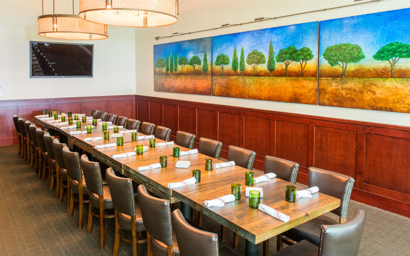 tesori private dining room - king's table