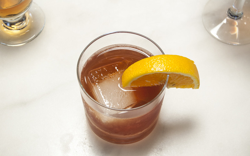 Classico Old Fashioned with orange rind