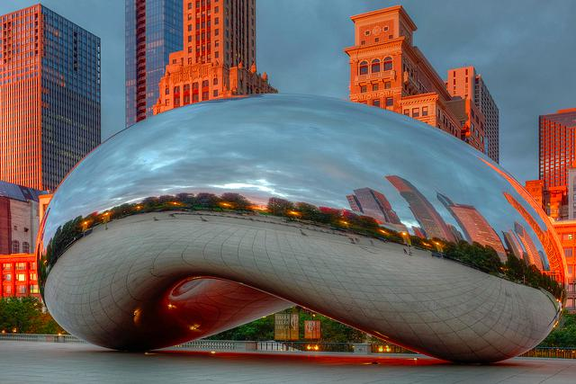 cloud gate and crown fountain