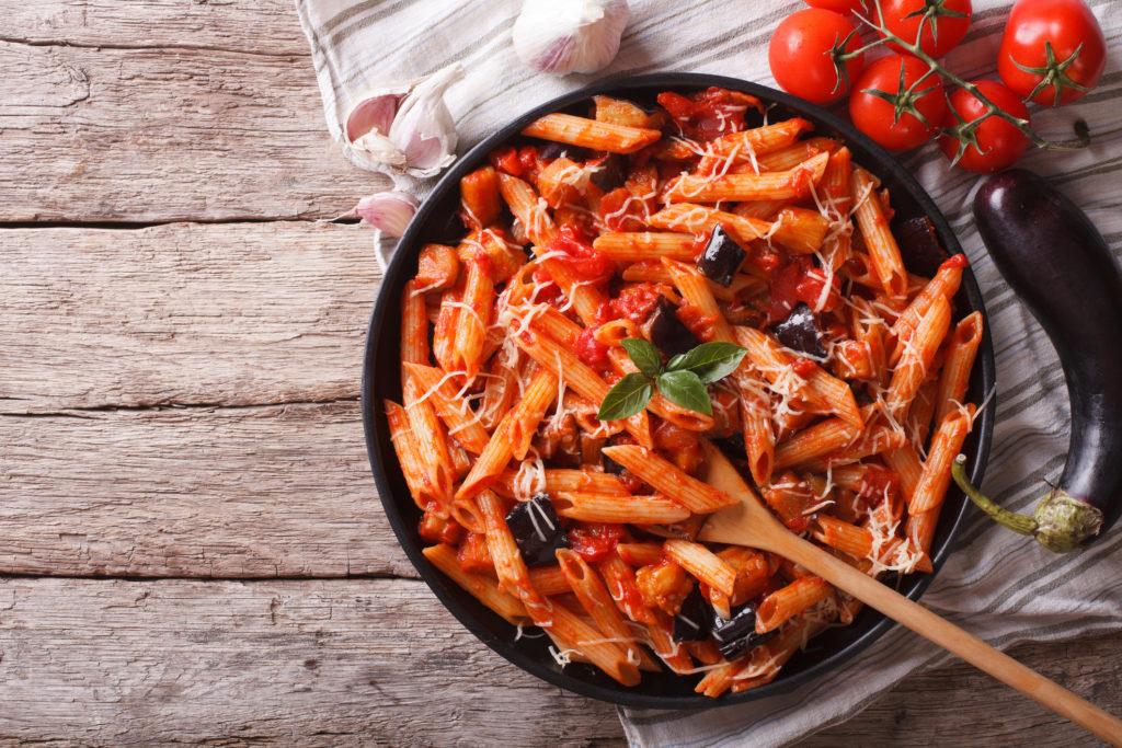 Italian Pasta alla Norma